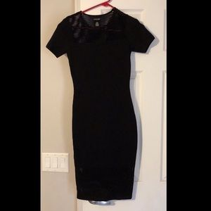 Black cocktail dress by Cache!